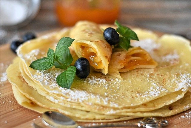 Leckere Crepes vom crepesmaker